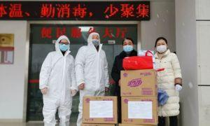 战疫情:松滋公益助学社在行动